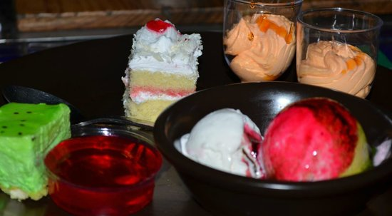 Barbeque Nation: lovely desserts