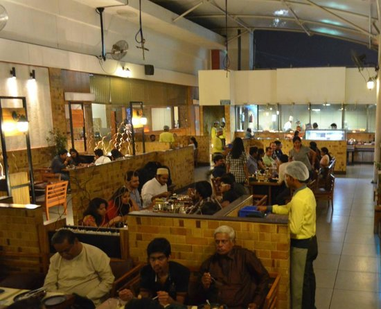 Barbeque Nation: the outdoor seating