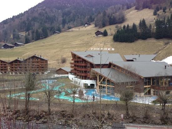 Thermes Parc - Les Bains du Val d'Illiez: thermes val D'Illiez