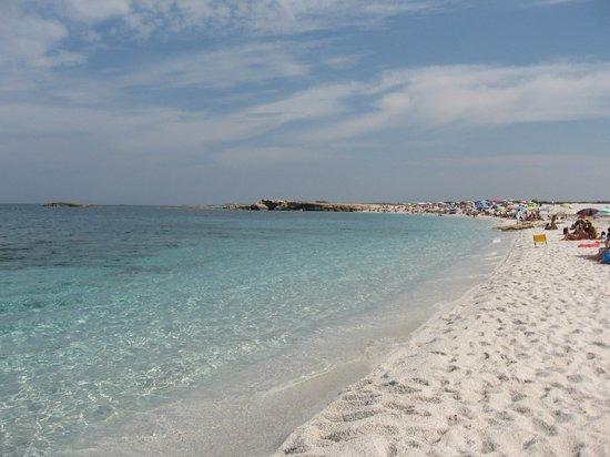 Camping Is Aruttas: Spiaggia, lato nord