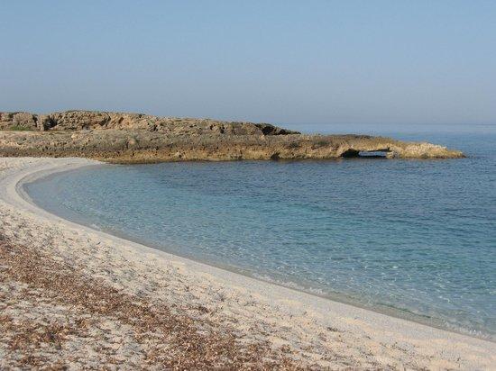 Camping Is Aruttas: Spiaggia, lato sud