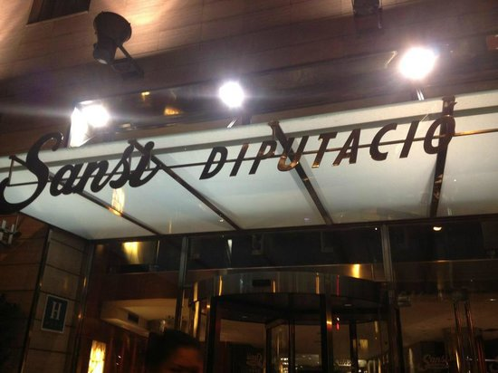 Sansi Diputacio Hotel : Entrata del Sansi Diputacio