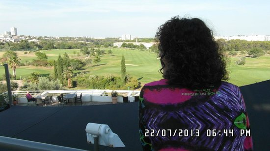 Quality Hotel du Golf Montpellier Juvignac : Vue sur le golf