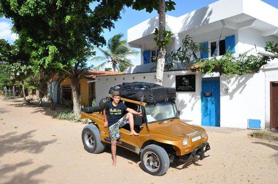 Pousada Caminho Da Praia: Départ de la Pousada pour le Kite