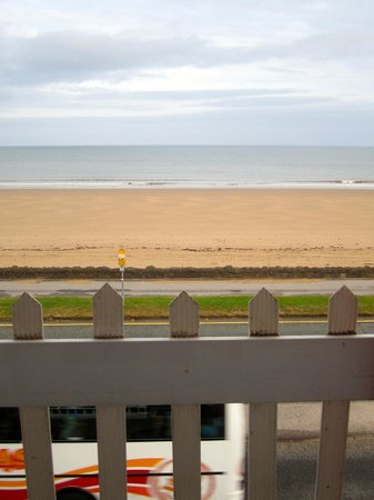 Beachcomber: The view from the bedroom window