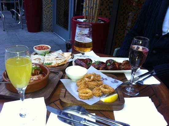 Las Iguanas - Brighton: Tapas selection