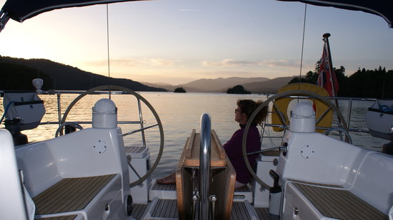 Sailing On Windermere: Evening Sail - Windermere Sunsets - Impulse Charters