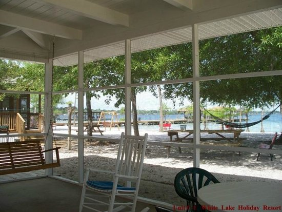 C1 Porch at White Lake Holiday Resort