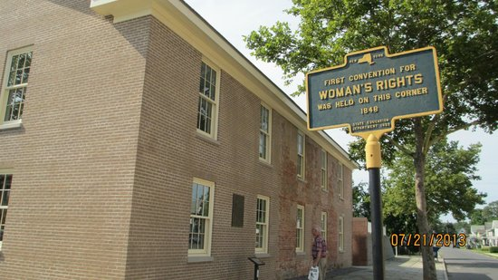 Women's Rights National Historical Park: The historical marker says it all.