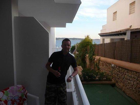 Sol Bahia Ibiza Suites: Balcony
