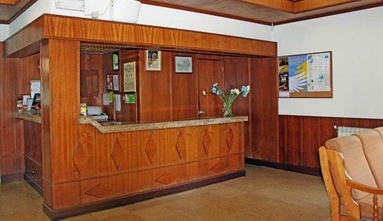 Hotel Santa Cecilia: Reception