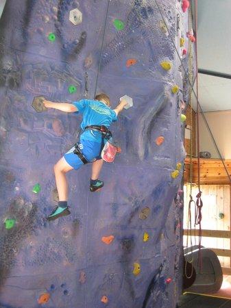 Keswick Climbing Wall: Indoor  wall-many more