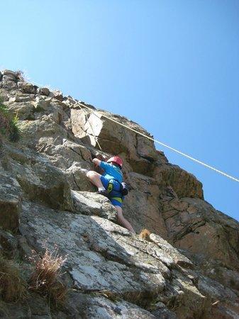 Keswick Climbing Wall: Outdoor climb
