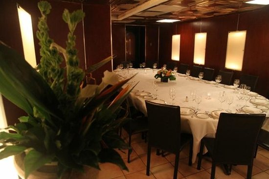 Private dining room picture of il postino new york city for Best restaurants with private dining rooms nyc