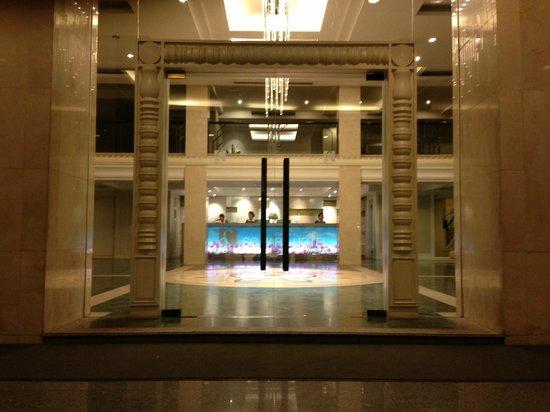 SC Park Hotel: Main entrance