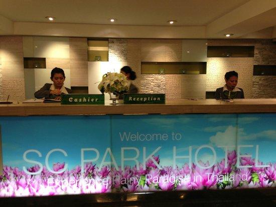 SC Park Hotel: Counter