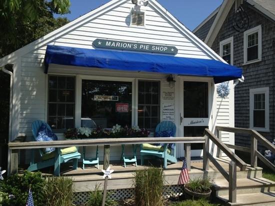 Marion's Pie Shop-: marion's!
