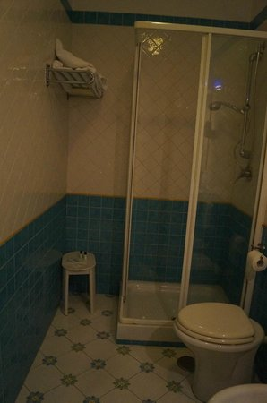 Hotel Potenza: baño