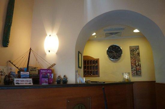 Hotel Potenza: recepción