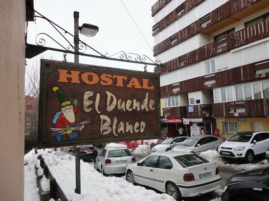 Hostal El Duende Blanco: desde la habitacio