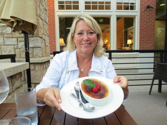 Devon Seafood + Steak: Creme Brûlée. I had two caloric bites. Worth it!