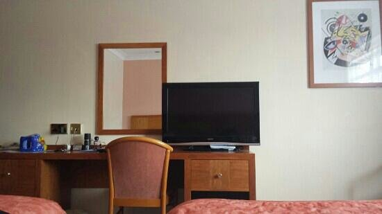 Ramada Leicester Stage: View from bed