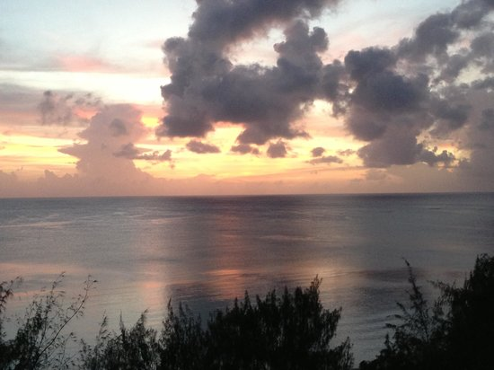 Chalan Kanoa, Mariana Islands: Sunset