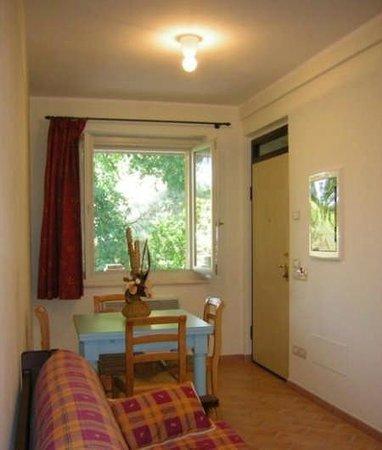 Residenze L'Alberata: Appartamento Anna, il soggiorno