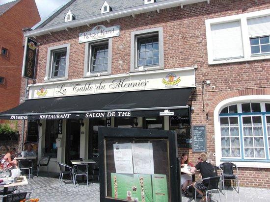 La table du meunier : La terrasse du restaurant