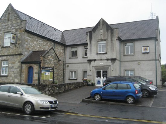 Donegal County Museum: Car park