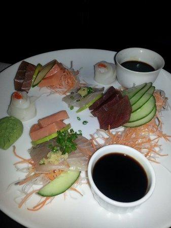 Glasse : Sashimi platter