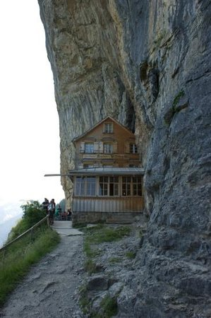 Aescher, Berggasthaus: Gasthaus Aescher-Wildkirchli