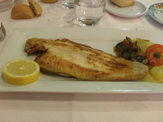 Restaurant L'Aquarium : Sole grillée