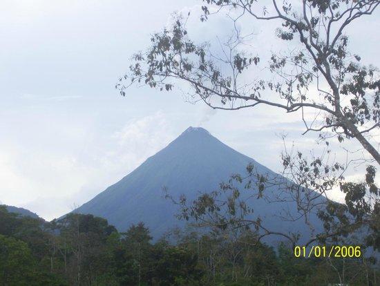Princesa de la Luna Eco Lodge: Arenal volcano