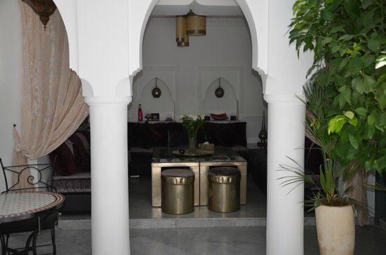 Riad Mirage: Le patio