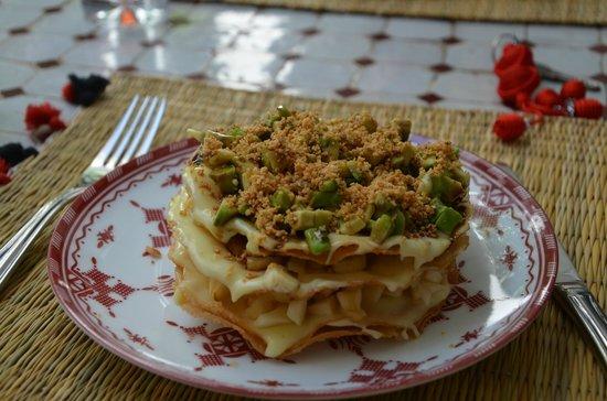 Riad Mirage: Dessert