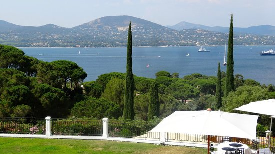 Villa Belrose Hotel : From the Terrace