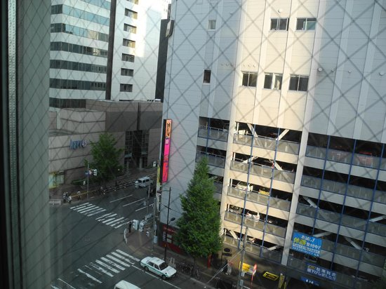 Mitsui Garden Hotel Sapporo: Not particularly nice view, yet not disastrous though