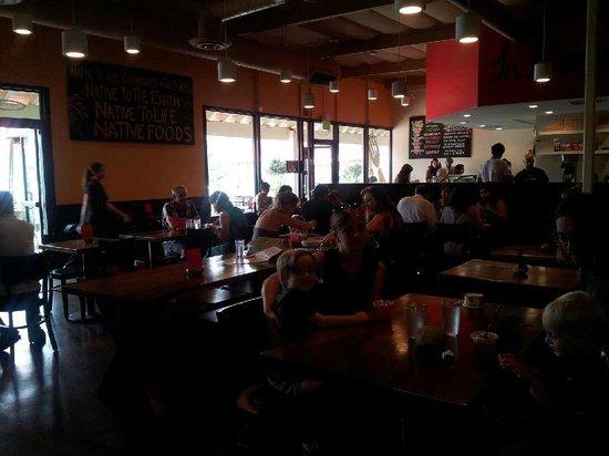 Native Foods Cafe : Interior