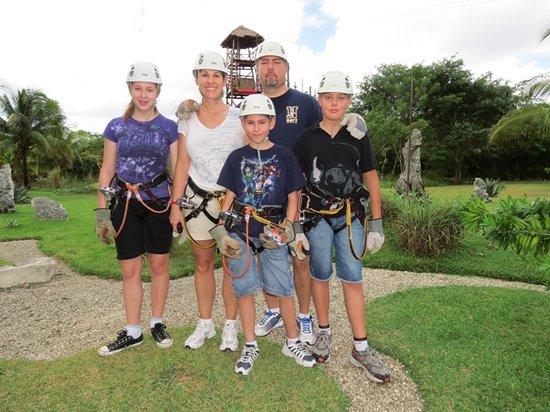 Fly High Adventures Zip Line Park: Experience Ziplining in Family