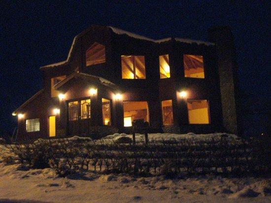 Hosteria Rukahue: Vista Nocturna