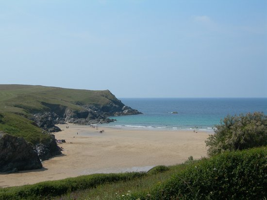 Crantock, UK: Porth Joke Beach