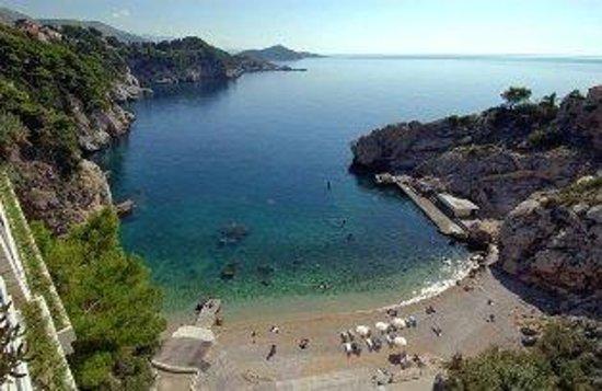 Hotel Bellevue Dubrovnik: Beach