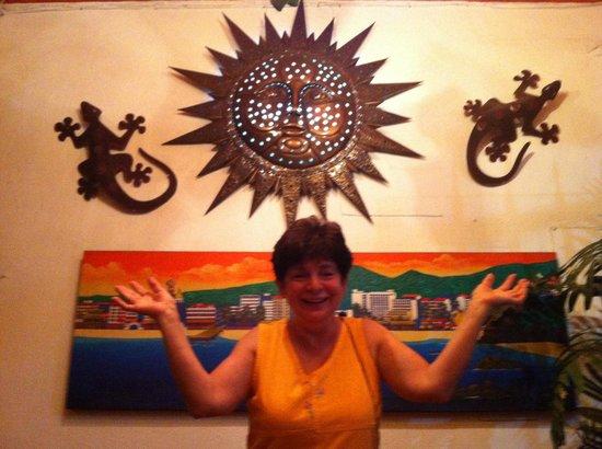 Hotel Posada de Roger : Everyone liked this sun