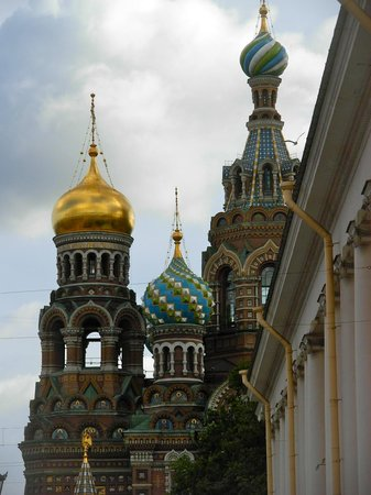 Angleterre Hotel: Church of Our Savior of Spilled Blood