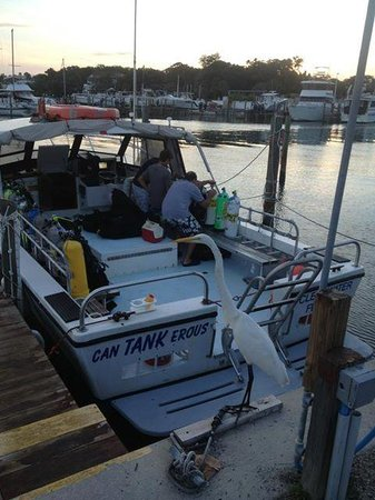 Tanks-A-Lot Dive Charters: Setting our gear