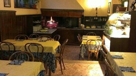 Restaurant Pizzeria 'da Silvano': il camino