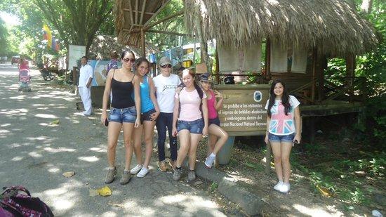 Camping Tayrona: entrada
