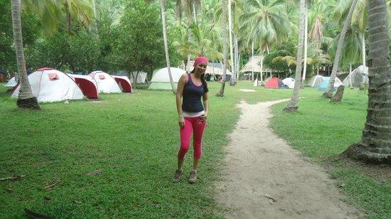 Camping Tayrona : camping