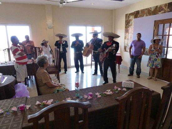 Cielo de Panama Hotel: BIRTHDAY PARTY IN DINING ROOM